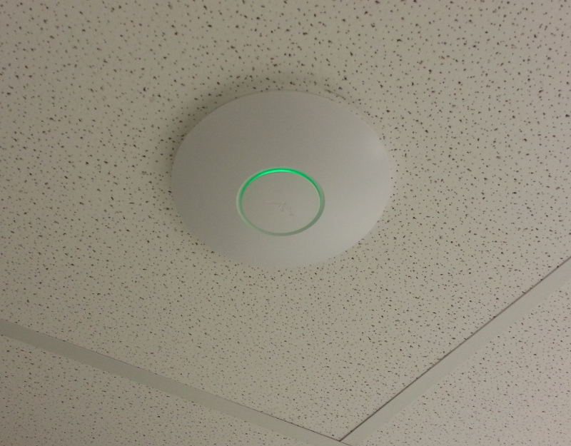 Ubiquiti Unifi business wifi installation